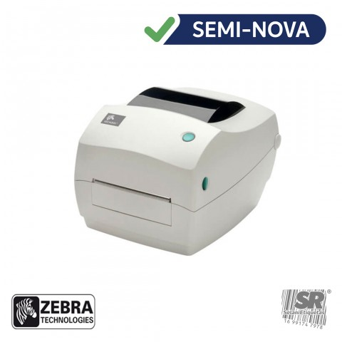 Impressora de Etiquetas Térmica GC420T - Zebra / Semi-Nova